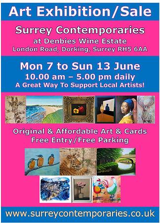 Surrey Contemporaries at Denbies June 20