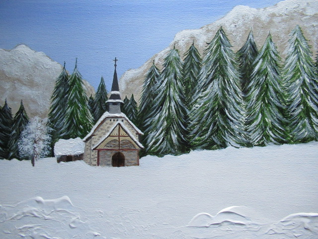 Little Chapel in the Snow