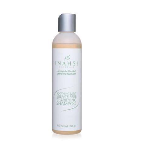 Inahsi Soothing Mint Sulfate Free Clarifying Shampoo 8oz
