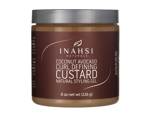 Inahsi Coconut Avocado Curl Defining Custard