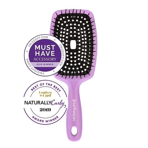 Curl Keeper® Flexy Brush - Purple