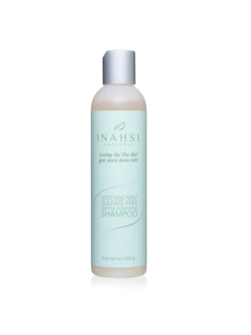 Inahsi Soothing Mint Gentle Cleansing Shampoo 8oz