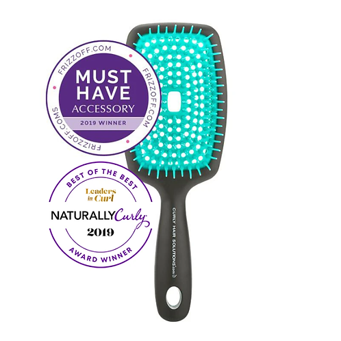 Curl Keeper® Flexy Brush  - Turquoise
