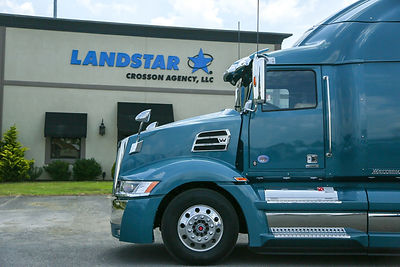 Trucking company, Crosson Logistics, Landstar GAD Agency - offering driving jobs for owner operators