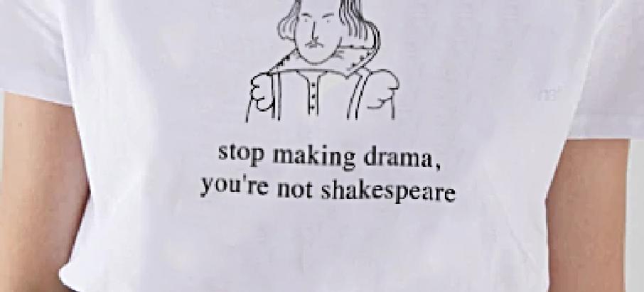 Não faças um drama