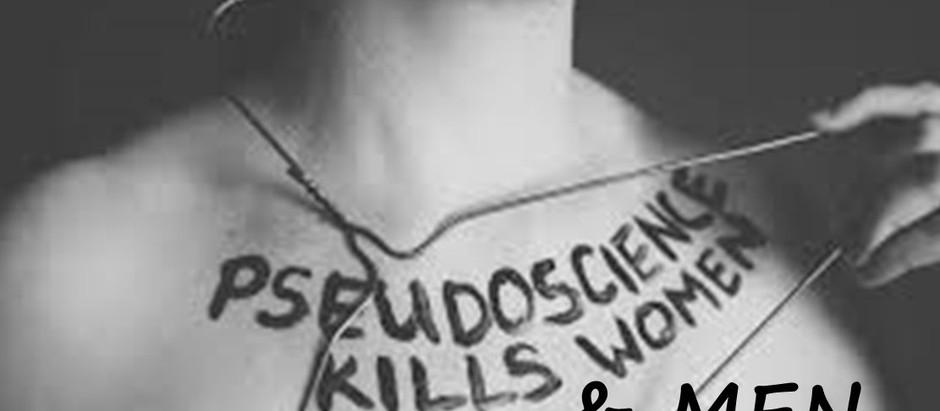 O amor mata, mas a pseudociência mata mais