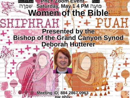 May 1 Women of the Bible Shiphrah and Puah