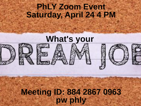 April 24 Dream Jobs