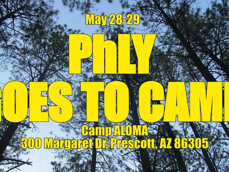 Saturday, May 28 PhLY Day@CampALOMA