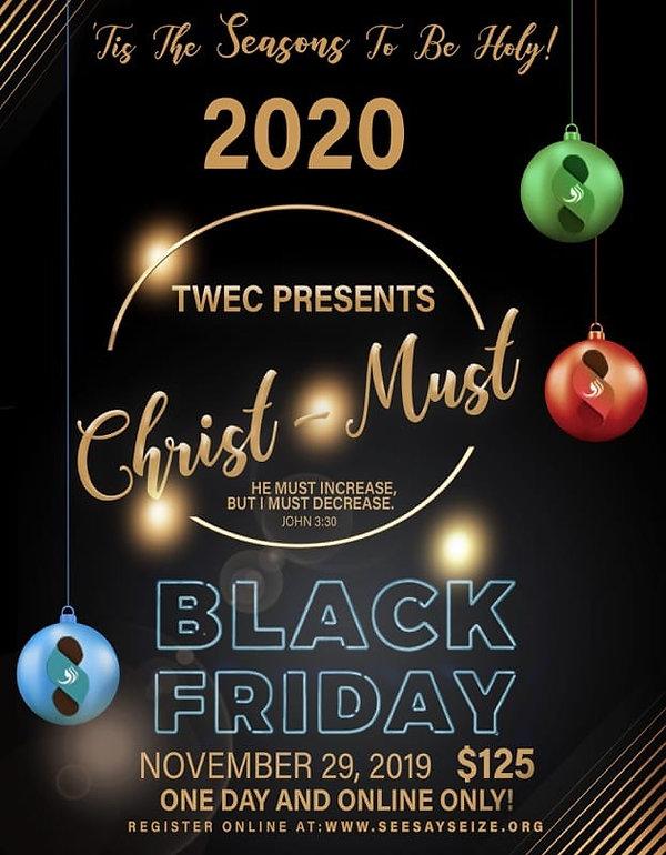 TWEC Black Friday 2019 for 2020 Conferen
