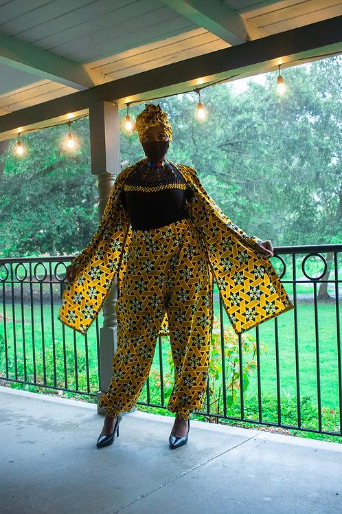 Yellow Pantsuit