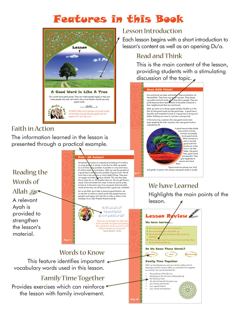 We Are Muslim Grade 3 - Features Page