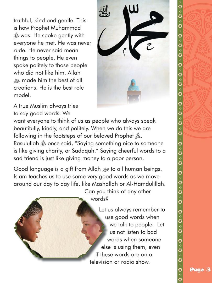 We Are Muslim Grade 3 - Lesson 1