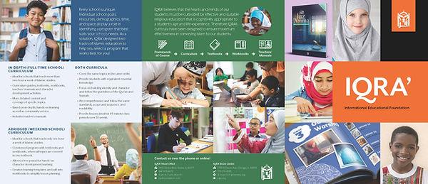 IQRA Curriculum Brochure 2020