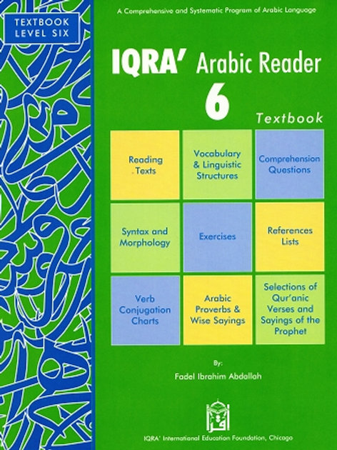 IQRA' ARABIC READER 6 (TEXTBOOK)
