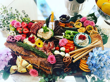 San Francisco caterers. Wedding appetizers. Party catering services. Wine pairing platter