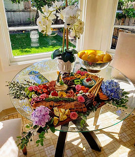 Wine pairing platter. Gourmet food for events and special occasion.