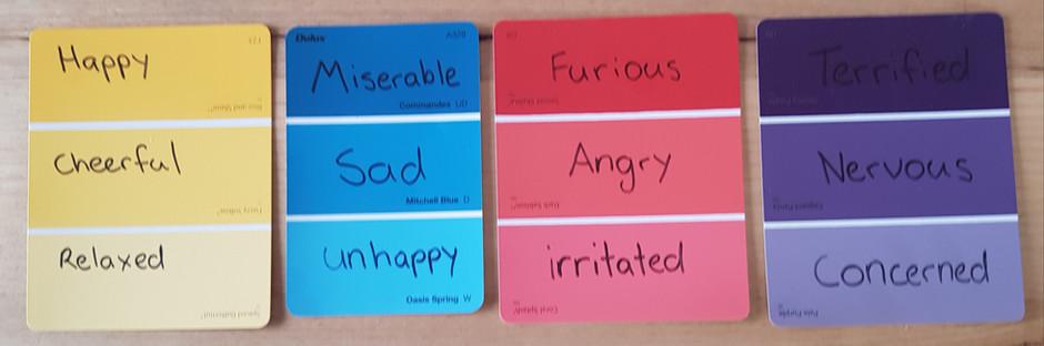 Building an Emotional Vocabulary