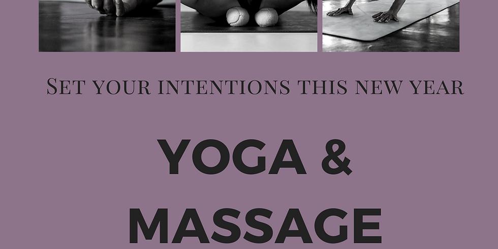 Yoga, Massage & Journaling Workshop