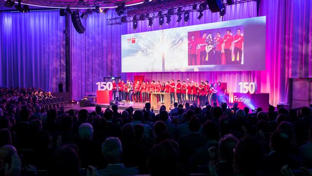 150 Jahre Frutiger – Video und Event
