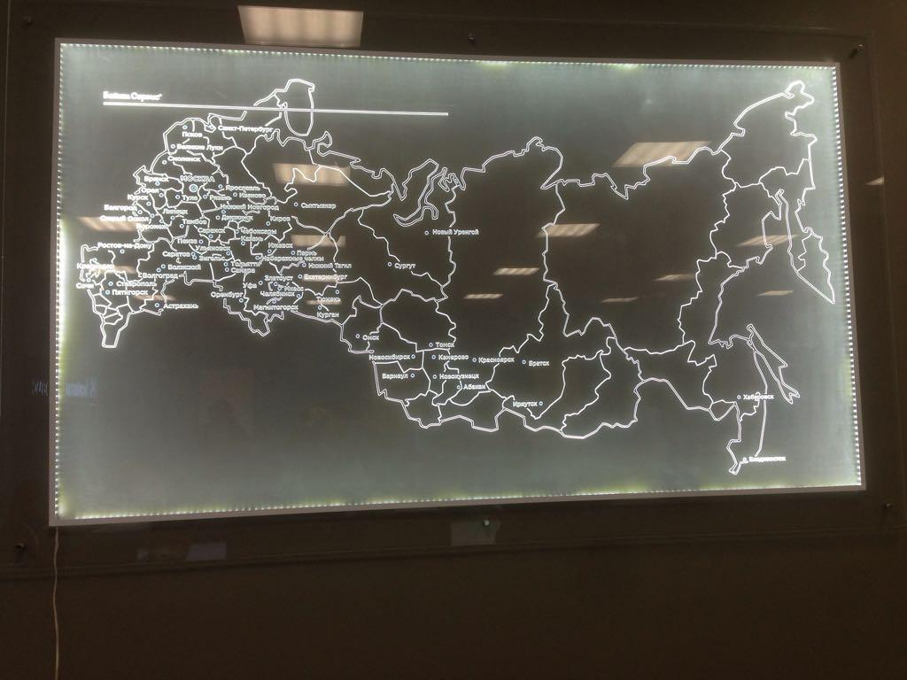 Акрилайт карта россии