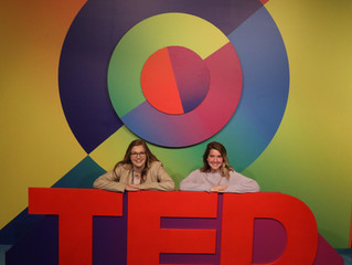Vicky Woodburn Represents TEDxNorthwesternU at TEDWomen Conference in Palm Springs, CA