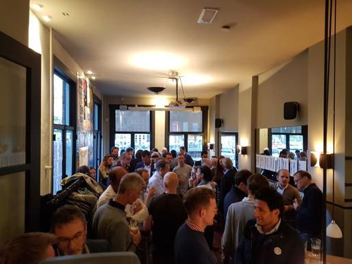 Amsterdam #3 - Drawdown drawing the Clubber crowd