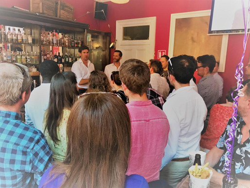 #1 Climate Cocktail Club   June 2018