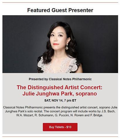 Julie Junghwa Park  11-14-20 at Merkin H