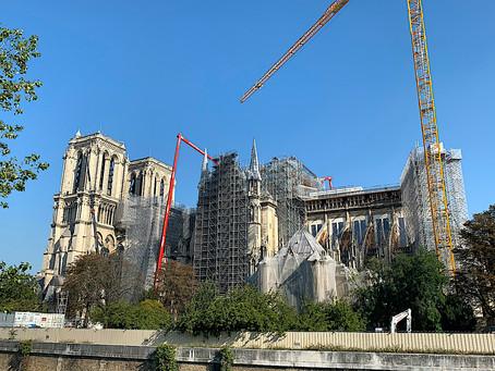 Les Ingénieurs IPF au chevet de Notre-Dame de Paris