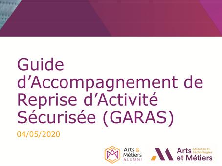 Guide d'Accompagnement de Reprise d'ActivitéSécurisée (GARAS)