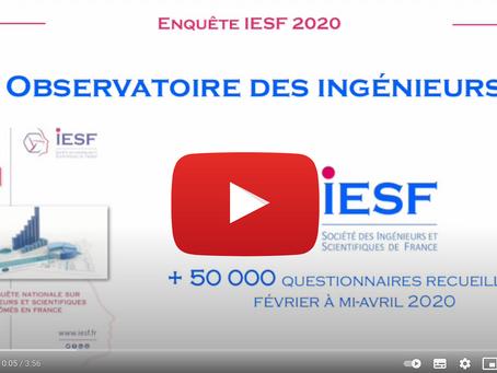 Enquête IESF : La 32ème édition a lieu du 1er février au 31 mars 2021