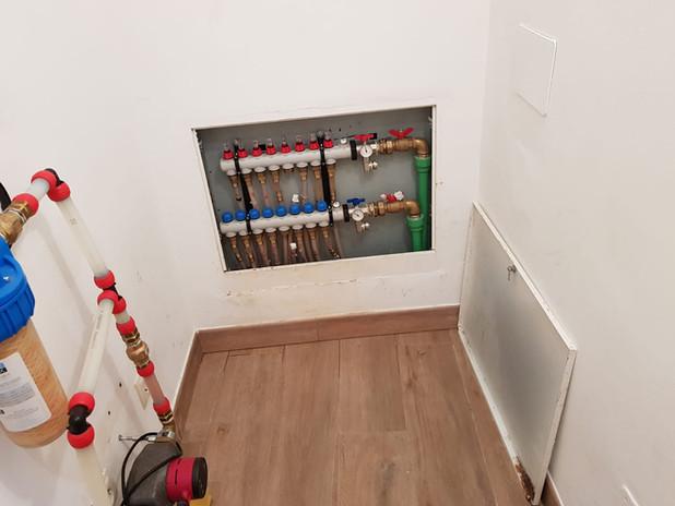Heating soil unit