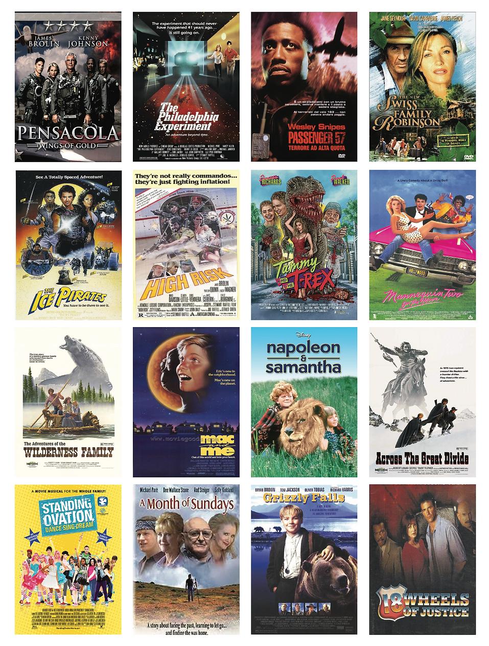 Stewart Raffill Film and TV Highlights