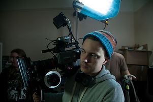 Director Camera Operator Tom Sands in London