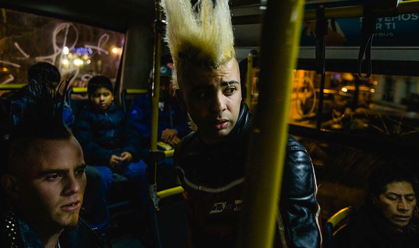 """""""Punk Chileno"""" Ensaio Finalista de Luciano Díaz"""
