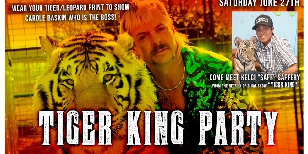 "Tiger King Party (Come Meet Kelci ""Saff' Saffery)"
