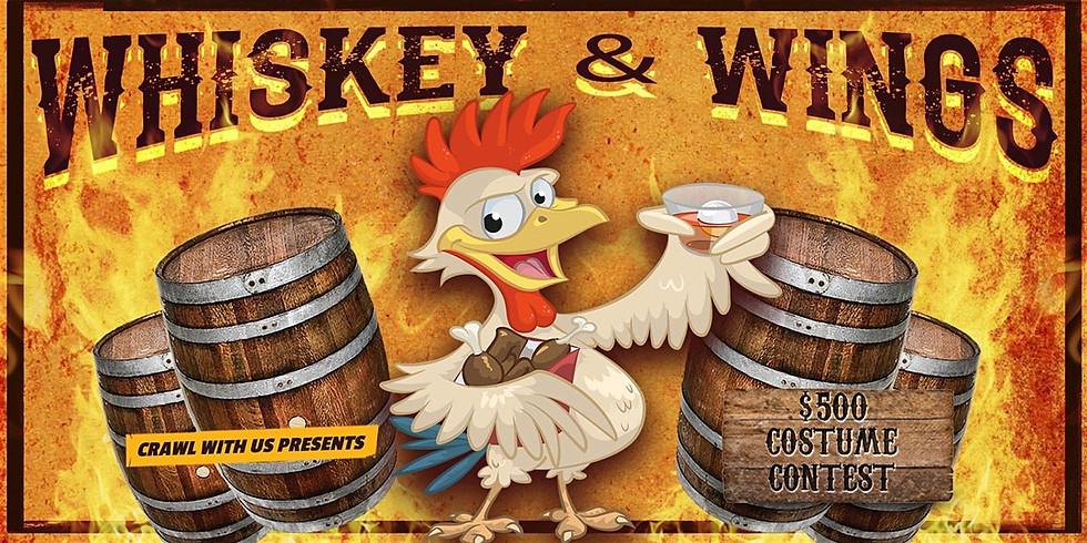 Whiskey and Wings Bar Crawl w/ DJ Julian Rivera