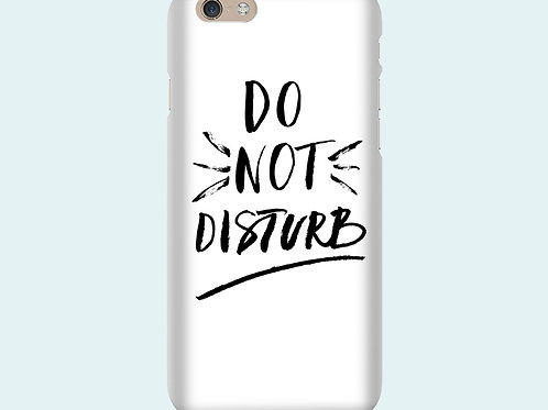 Чехол с надписью «Do not disturb»