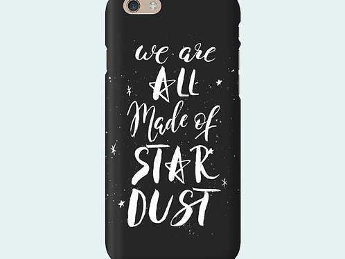 Чехол с надписью «We are all made of stardust»