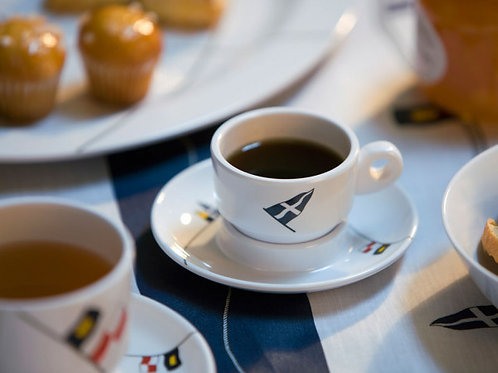 Regata Espresso Cup & Saucer Set/6