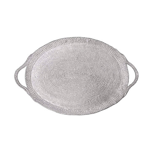 Rope Oversized Oval Tray