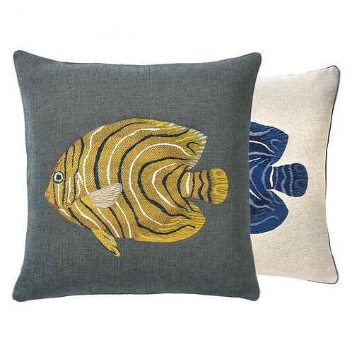 Ikaria-Single Fish Decorative Pillow