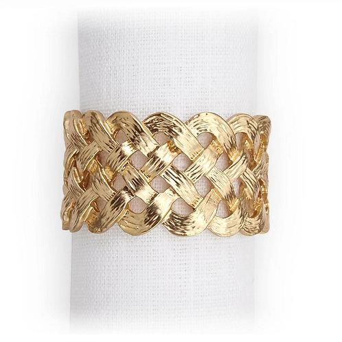 Braid Napkin Jewels (Set of 4)
