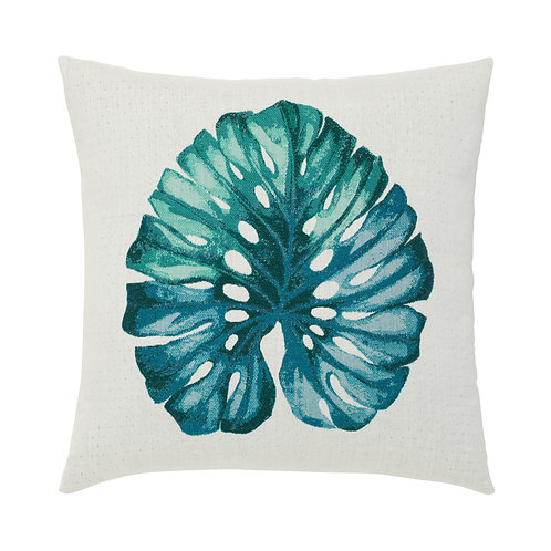 Leaf Lagoon 22x22 pillow