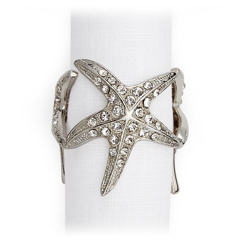 Starfish Napkin Jewels (Set of 4)