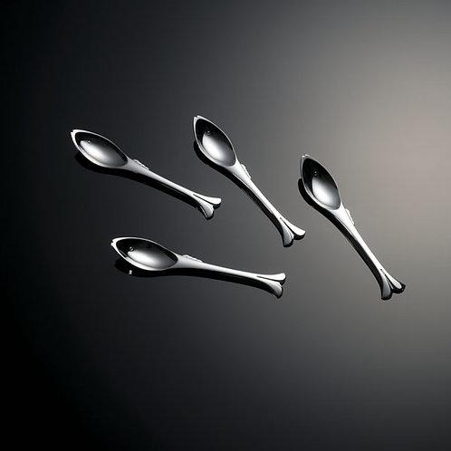 Gone Fishing Dessert Spoon, Set of 4, Gift Boxed