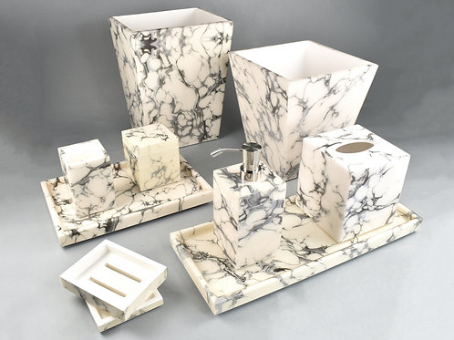 Cream Carrara Bath Collection