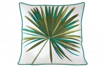 Palm Pillow - Outdoor Sunbrella