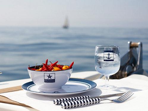 Sea Lovers 32PC Set- Cooler & Dinnerware